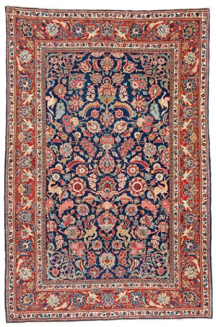 Kashan 205 x 134 cm (6ft. 9in. X 4ft. 5in.) Persia, ca.
