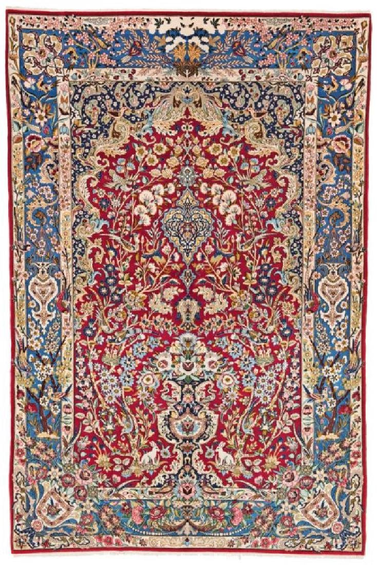 Isfahan 240 x 158 cm (7ft. 10in. x 5ft. 2in.) Persia,