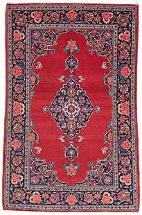 Kashan 160 x 107 cm 5ft 3in x 3ft 6in Persia ca