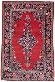 Kashan 160 x 107 cm (5ft. 3in. x 3ft. 6in.) Persia, ca.