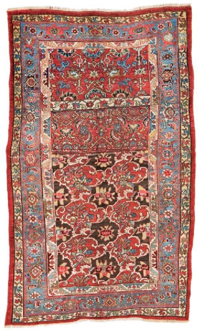 Bidjar 246 x 153 cm (8ft. 1in. x 5ft.) Persia, ca. 1900