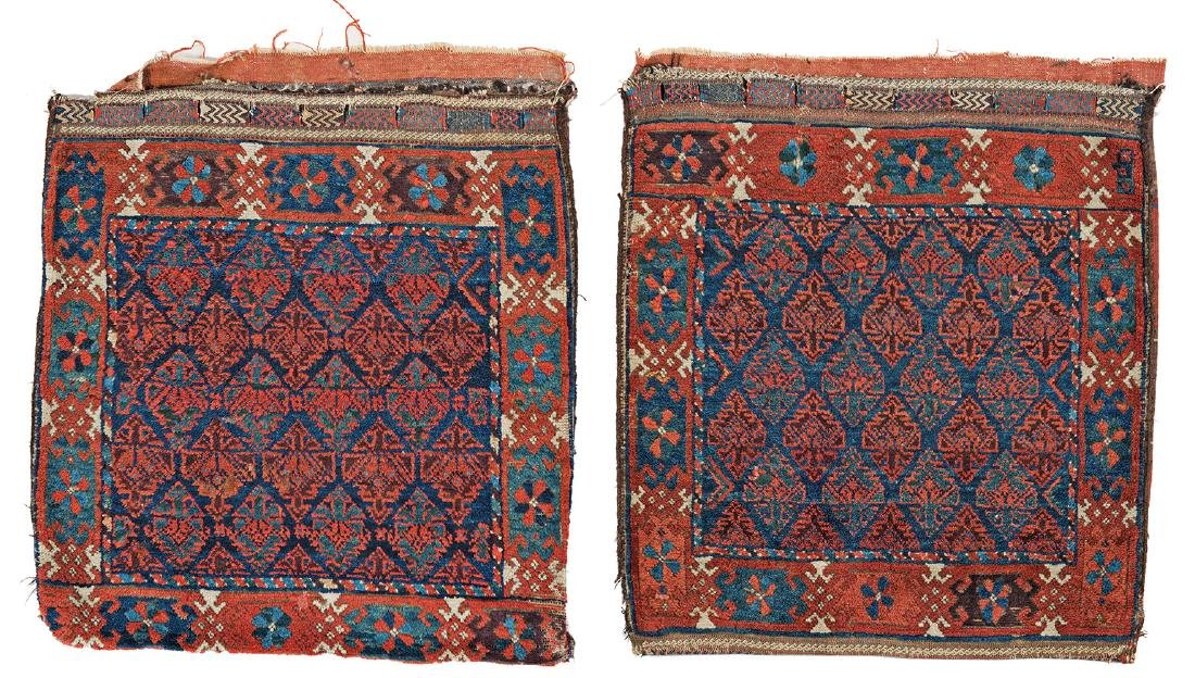 Pair of Baluch Bag Faces