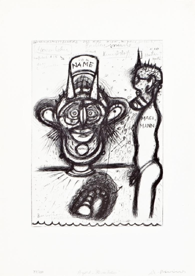 ARNULF RAINER (1929 BADEN BEI WIEN)