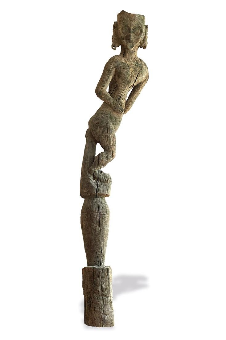 Modang Ancestor Figure Indonesia, East Kalimantan