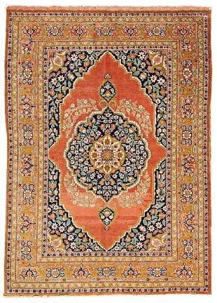 Tabriz Persia ca. 1900 176 x 127 cm (5ft. 9in. X 4ft.