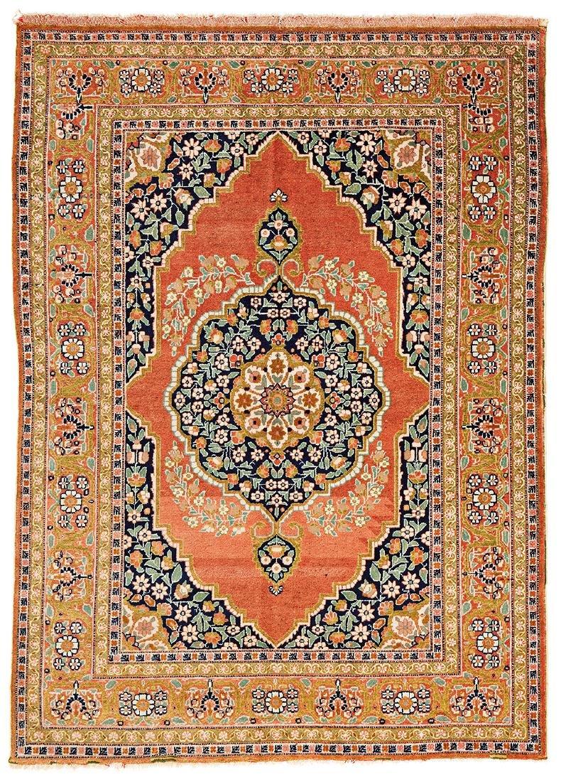 Tabriz Persia ca. 1900 176 x 127 cm (5ft. 9in. X 4ft.