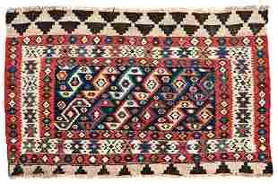 Shasavan Kilim Persia late 19th century 95 x 60 cm