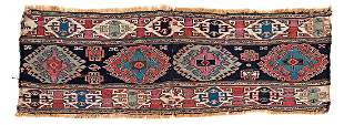 Shasavan Sumakh Fragment Azerbaijan ca. 1880 102 x 34