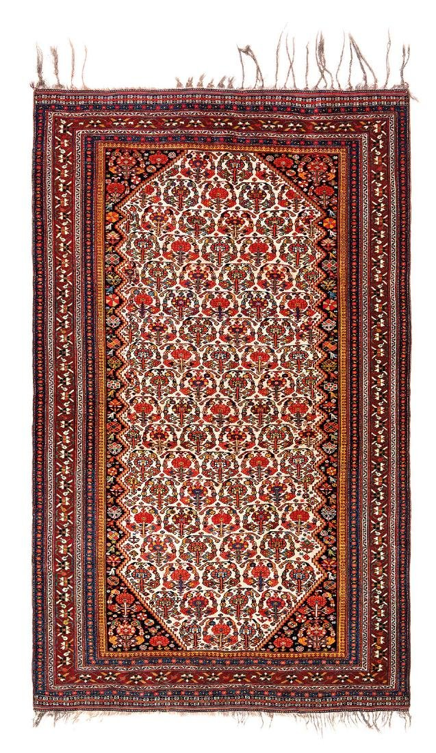 Qashqai Persia, ca. 1880 7ft. 7in. x 4ft. 7in.