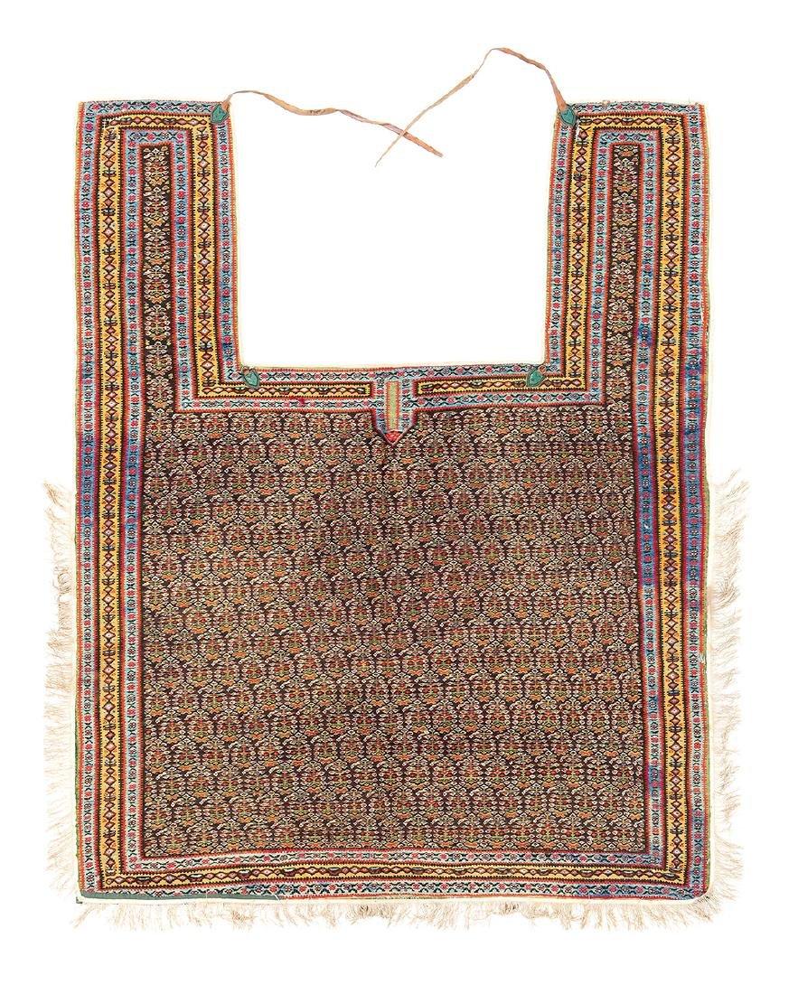 Senneh kilim horse cover  Persia, late 19th century