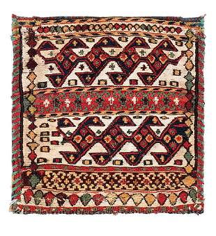Shahsavan sumakh bag  Caucasus, late 19th century 0ft.