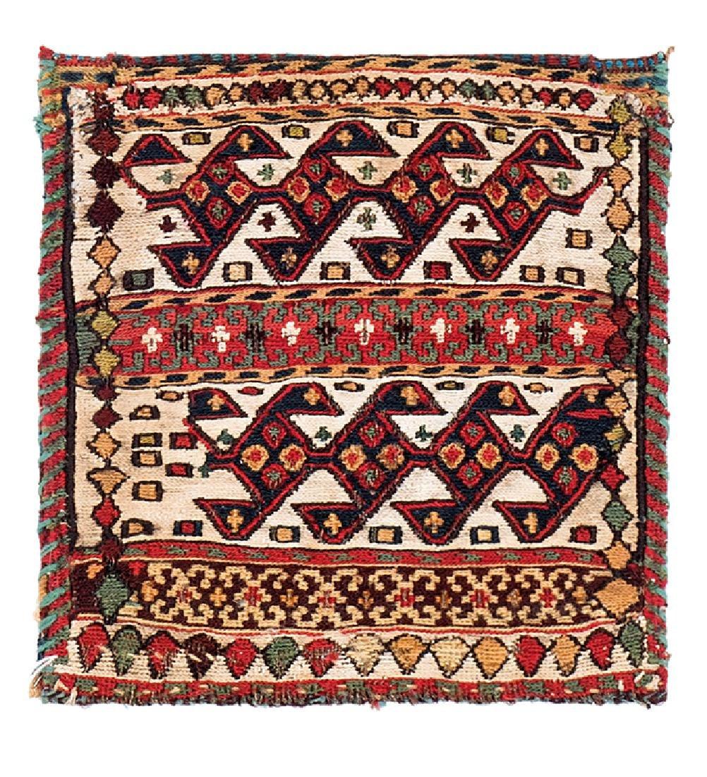 Shahsavan sumakh bag  Caucasus, late 19th century 0ft.