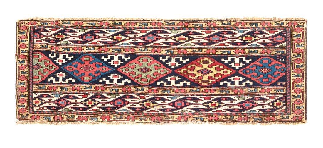 Shahsavan Sumakh panel  West Persia, third quarter 19th