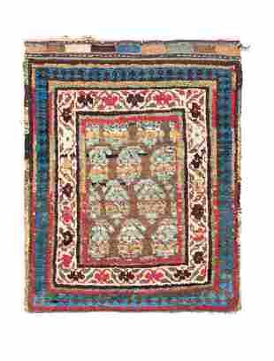 Shahsavan Bag  Persia, late 19th century 2ft. 1in. x