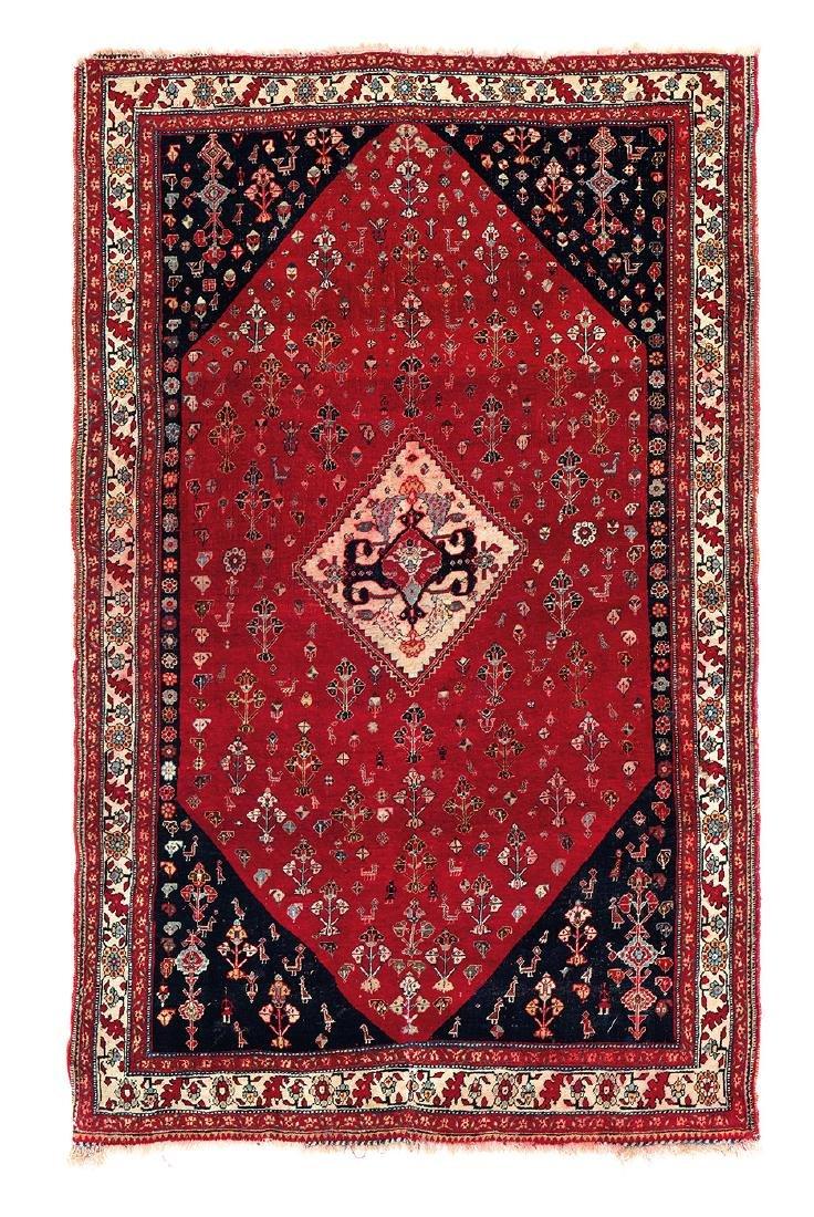 Qashqai  Persia, ca. 1880 5ft. 7in. x 3ft. 5in.