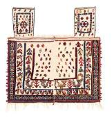 Qashqai Horse Cover Persia, late 19th century 5ft. 4