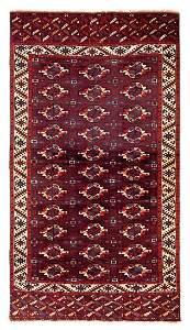 Karadashli main carpet  Turkmenistan, first half 19th