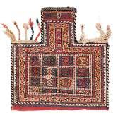 Afshar sumakh salt bag Persia, ca. 1880 2ft. 2 in. x
