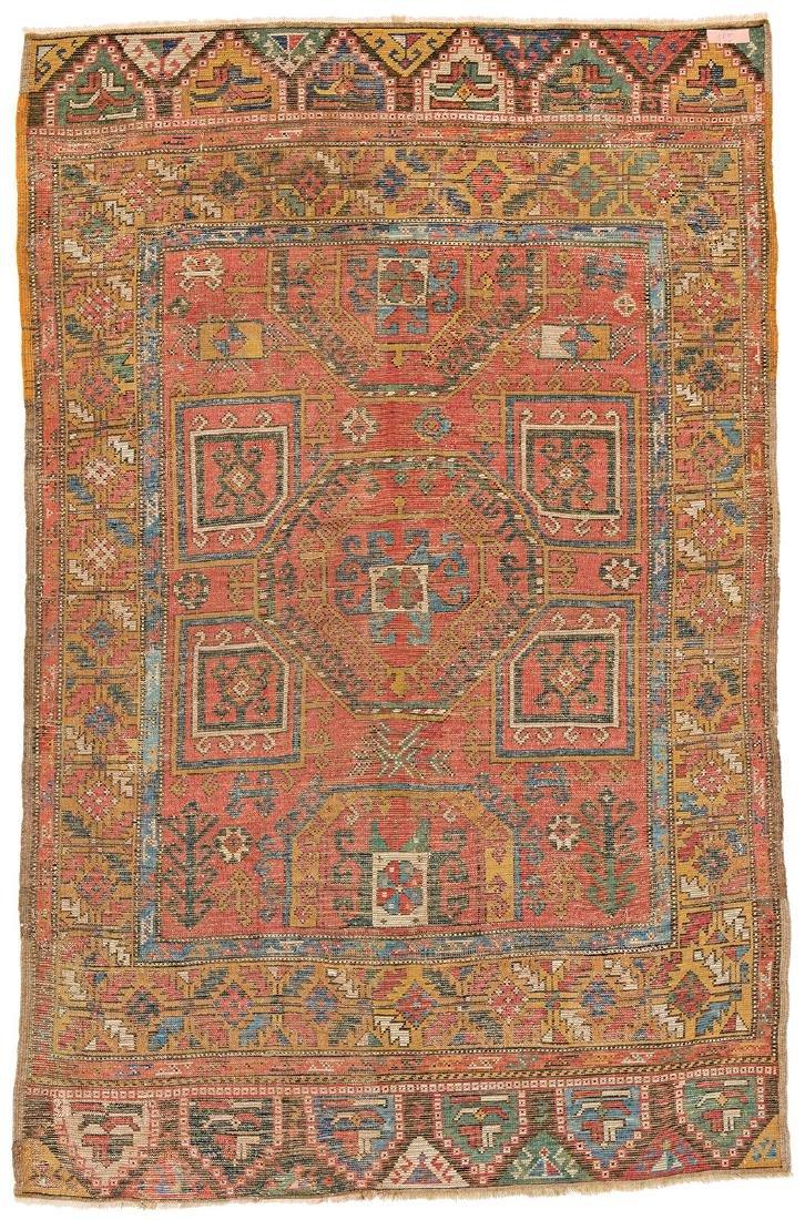 Konya Turkey, ca. 1870 212 x 138 cm (6ft. 11in. X 4ft. - 2