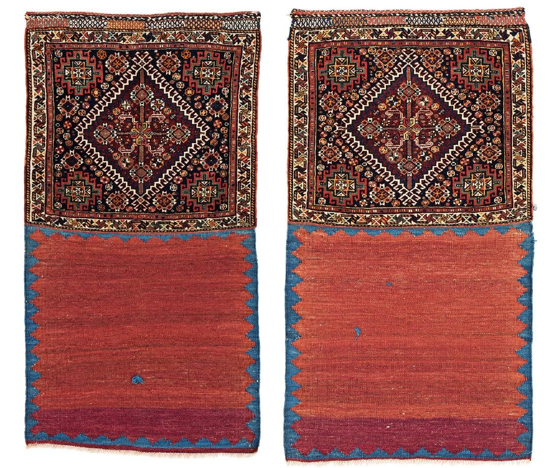 One pair of Qashqai Bag Faces