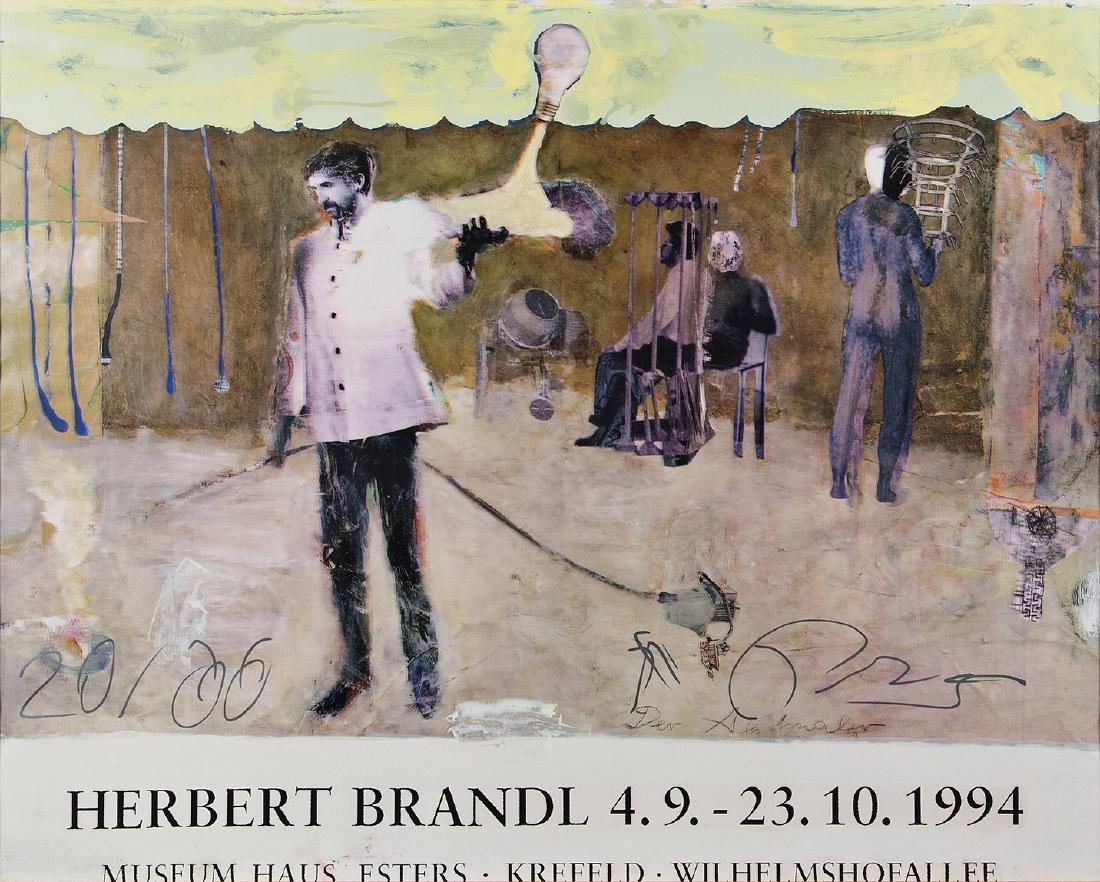 FRANZ WEST - (1947 WIEN - 2012 WIEN) - HERBERT BRANDL,