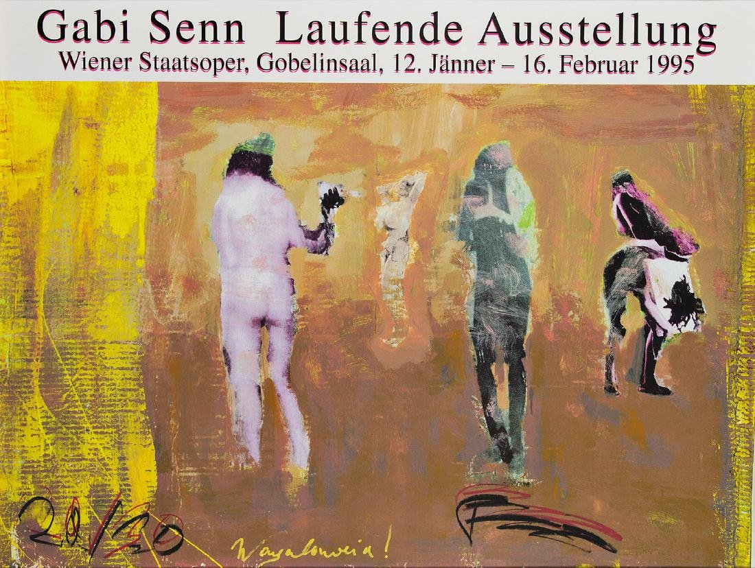 FRANZ WEST - (1947 WIEN - 2012 WIEN) - GABI SENN, 1995