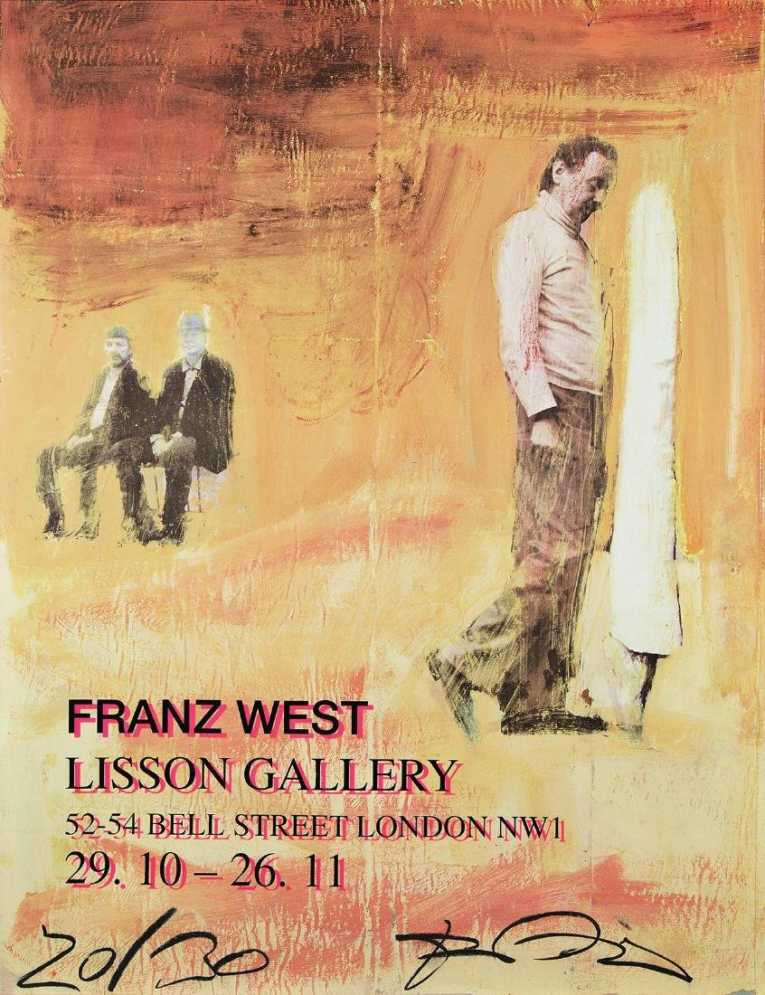 FRANZ WEST - (1947 WIEN - 2012 WIEN) - LISSON GALLERY,