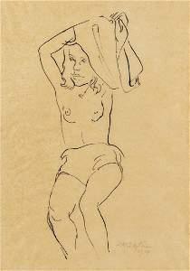 HERMANN MAX PECHSTEIN - (1881 ZWICKAU - 1955 BERLIN) -