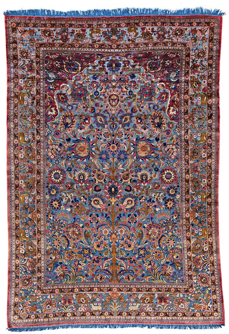 Kashan Souf silk