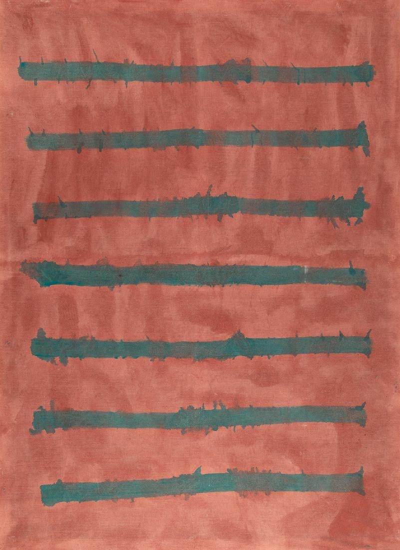 OSWALD OBERHUBER - (1931 MERAN) - o. T., 1985