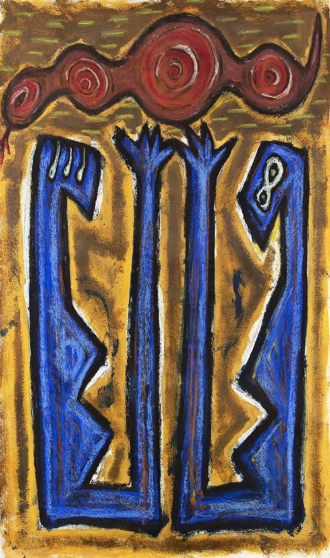 ERWIN BOHATSCH - (1951 MÜRZZUSCHLAG) - o. T., 1984
