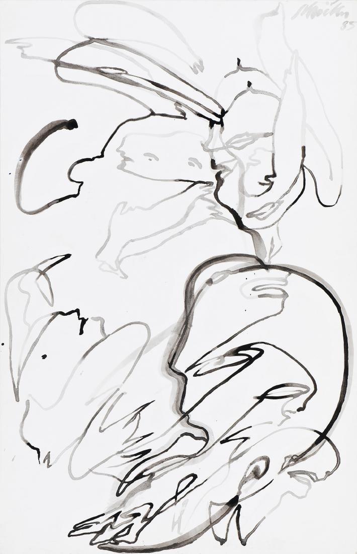 ERNST SKRICKA - (1946 WIEN) - o. T., 1985