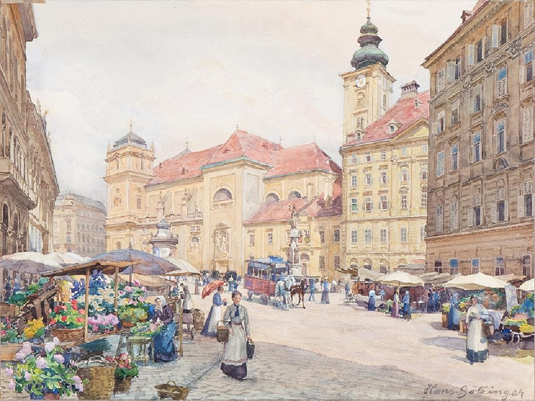 HANS GÖTZINGER - (1867 WIEN - 1941 WIEN) -