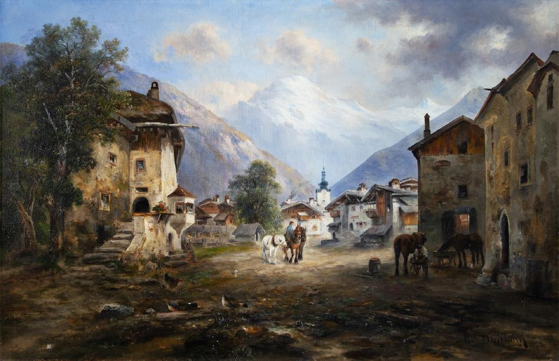 EMIL BARBARINI - (1855  WIEN - 1933 BRUNN AM GEBRIGE) -