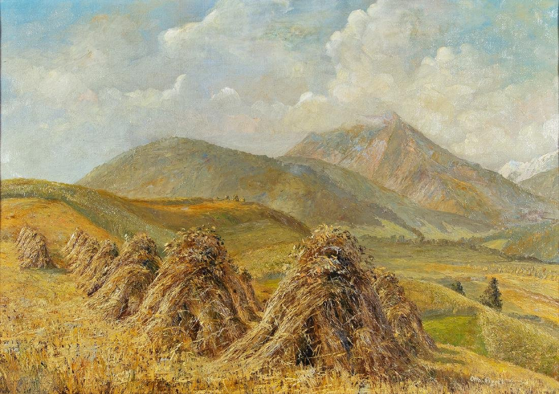 OTTO EDUARD PIPPEL - (1878 LODZ - 1960 MÜNCHEN) -