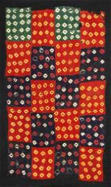 Cloth in reserve technique (Plangi)