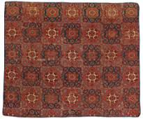 Large Holbein-Design Ushak Carpet Fragment