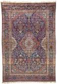 Fine Silk Kashan Carpet