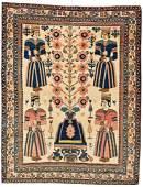 Afshar Pictorial Rug