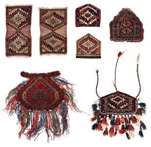 Seven Turkmen Dizlyks