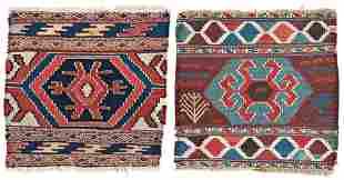 Two Shahsavan Kilim Panels