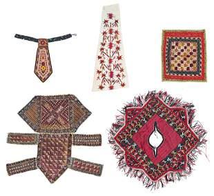 Set of Turkmen Textiles