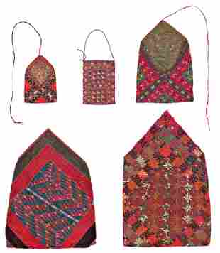 Set of Turkmen Bags and Bokches