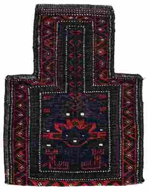 Double-sided knotted Baluch Namakdan