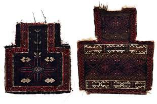 Two knotted Baluch Namakdan