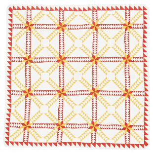 American Quilt (Flying-Geese Design)