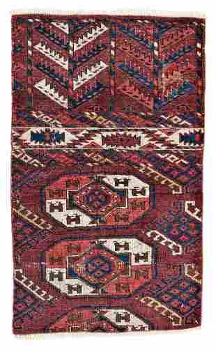Yomut Main Carpet Fragment