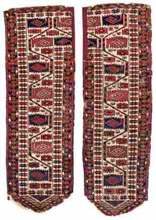 Two Side Arms of a Tekke Kapunuk