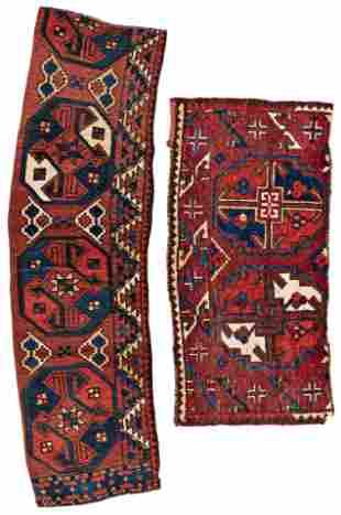 Two Fragments of Uzbek Main Carpets