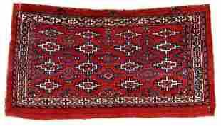 Yomut Chuval with Kilim Design